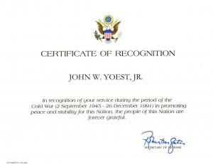 Cold War Citation