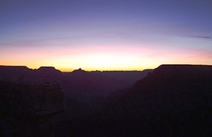 Easter Sunrise Grand Canyon