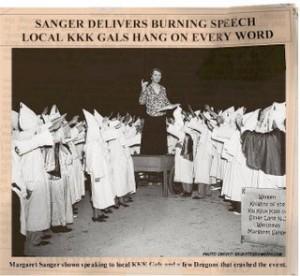 Margaret_Sanger_KKK_speech_salute
