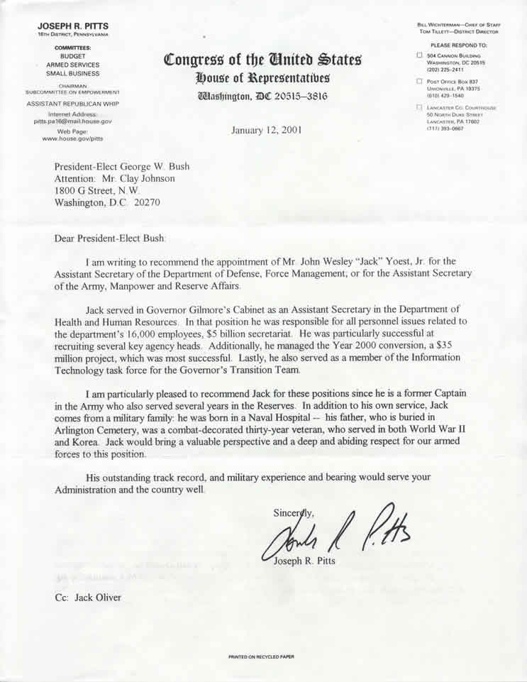Letter Of Recommendation For Secretary from www.yoest.com