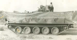 M-551 Sheridan Light Tank