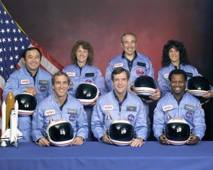 Challenger Crew  courtesy: NASA
