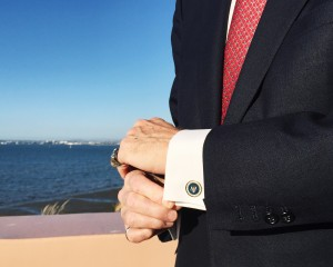Your Business Professor and The Undone Cuff Suit: Tom James Company Cuff links: Ronald Reagan San Diego, CA Photo credit: Hannah Yoest