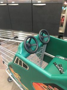 steering wheel cart